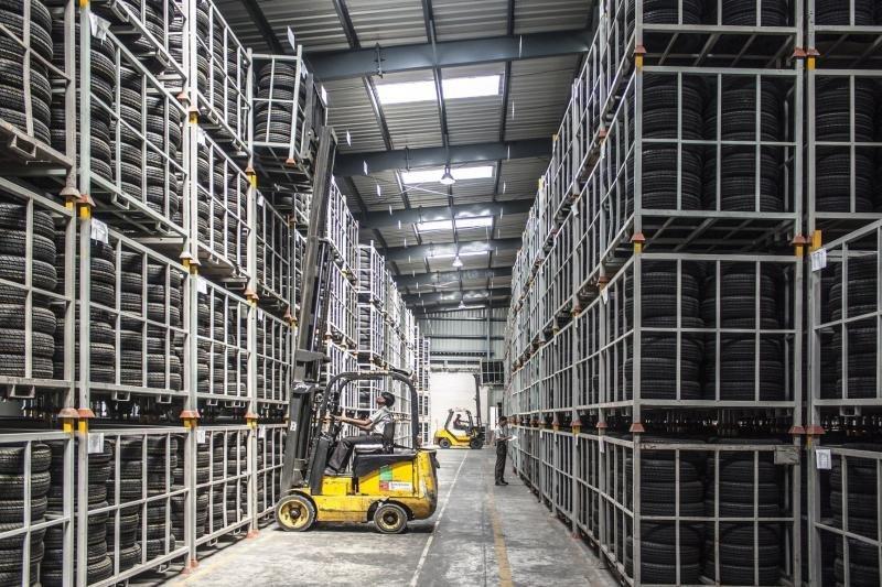 Armazenagem armazém logística