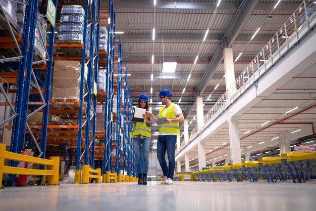 Armazenagem de produtos e mercadorias