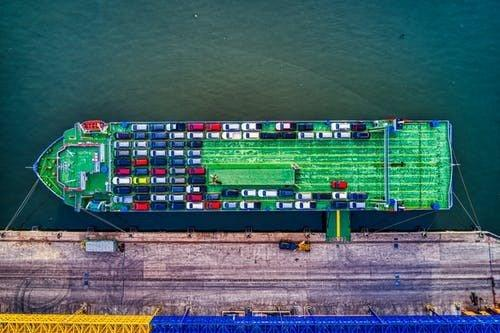 Importação e exportação marítima