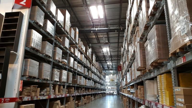 Prestação de serviço de armazenagem